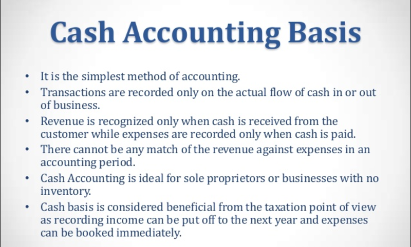 accounting methods Choosing an accounting method for tax purposes is important because it affects how and when income and deductions are recognized an estate or trust may choose its own method of accounting, independent of the.