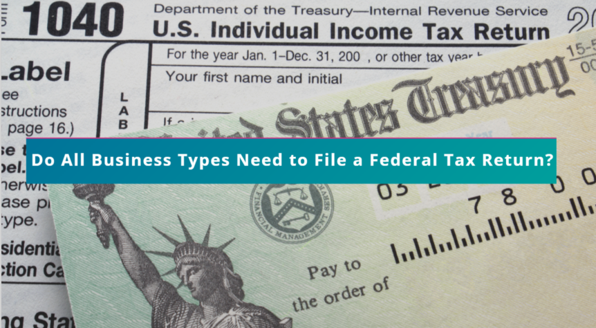 Do All Business Types Need To File A Federal Tax Return Probooks Ny